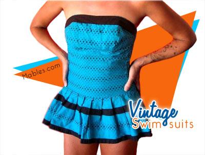 Vintage Prom Dresses - blue prom dresses